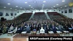 مراسم انتقال فرماندهی نیرو های نظم عامه از وزارت داخله به وزارت دفاع افغانستان