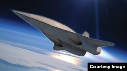 The SR-72, as seen in this artist's conception, could fly up to six times the speed of sound. (Lockheed Martin)