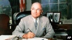 'Marshall Plan' ditandatangani pada pemerintahan Presiden AS Harry S. Truman (foto: ilustrasi).