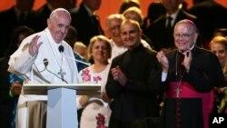 教宗出席費城的共家庭節