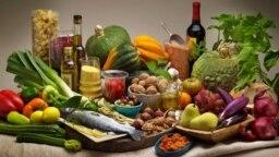 رژیم غذایی مدیترانهای مملو از سیزیجات، میوه، ماهی، آجیل، و روغن زیتون فرابکر است.