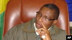 Moussa Dadis Camara, le l'ex-chef de la junte guinéennene