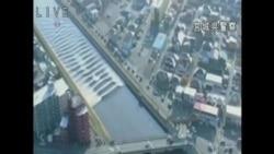 日本福島核電站附近發生海嘯