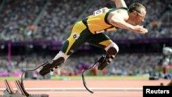 Oscar Pistorius participó en las competencias de 400 y 800 mts,individuales y relevo.