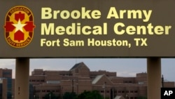 Brooke Army Medical Center is shown June 12, 2014, in Fort Sam Houston, Texas, where Sgt. Bowe Bergdahl had been recovering.