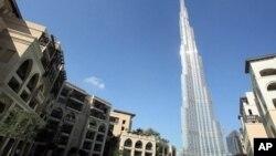 متحدہ عرب امارات کی ریاست دبئی کا ایک منظر
