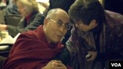 達賴喇嘛在華盛頓參加國家祈禱早餐會