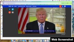 """Donald Trump, ses """"100 premiers jours"""", YouTube, le 12 novembre 2016"""