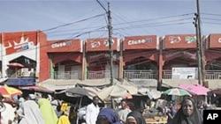 Mercado em Maiduguri, Nigeria., zona de inplatação da Boko Haram