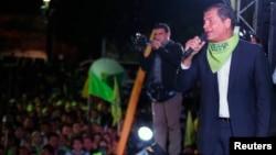 라파엘 코레아 에콰도르 대통령 (자료사진)