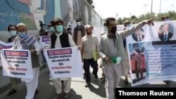 Arrivée aux Etats-Unis du premier groupe des traducteurs Afghans