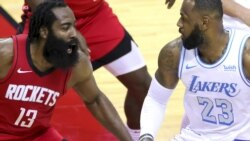 Lakers waibwaga Rockets kwa point 120 kwa 102