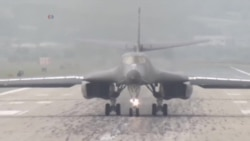 美轰炸机再次飞越韩国