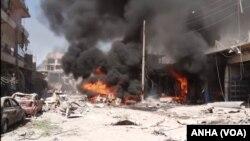 Qamishlo Explosion