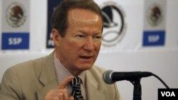 El secretario de Estado Adjunto para la lucha contra el Narcotráfico Internacional, William Brownfield, compareció en una audiencia en el Congreso.