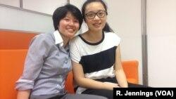 ထိုင္ဝမ္မွာ လိင္တူခ်စ္သူေတြကို တရားဝင္လက္ထပ္ခြင့္ျပဳလိုက္တဲ့ ဥပေဒအရ လက္ထပ္ဖို႔ စီစဥ္ေနၾကတဲ့ Yang Hsun (ဝဲ) နဲ႔ Hsu Pei-chieh