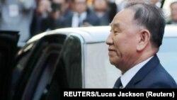 """En la foto el exjefe de espías de Corea del Norte, Kim Yong Chol. En 2016, el Ministerio de Unificación de Seúl dijo que fue enviado brevemente a un campamento de reeducación por su forma """"autoritaria"""" y abuso de poder."""