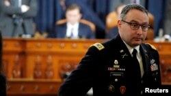 National Security Council aide Lt. Col. Alexander Vindman