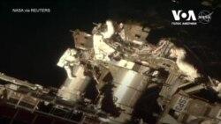 Астронавти NASA вийшли у відкритий космос для проведення робіт по модернізації МКС. Відео