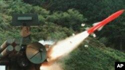 한국군의 미사일 발사훈련 (자료사진)
