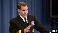 Savunma Bakanlığı Sözcüsü Tümamiral John Kirby