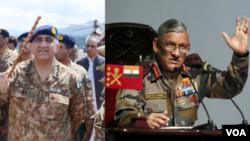 India Pakistan Army Chiefs