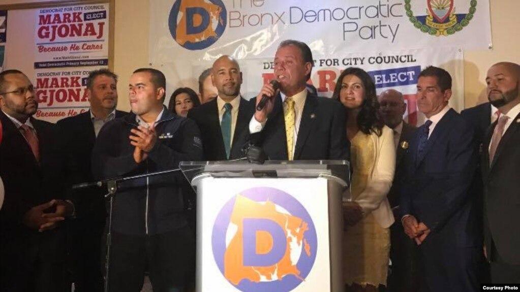 Mark Gjonaj fiton garën e demokratëve për Këshillin e Nju Jorkut
