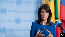 "Nikki Haley admite outras ""alternativas"""