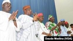 Hotunan Babbban Taron Jam'iyyar PDP a Abuja.