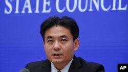 Ông Yang Guang, phát ngôn viên của Văn phòng chính phủ Trung Quốc phụ trách các vấn đề Ma Cao và Hong Kong.