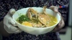 Món bánh canh ghẹ Kiên Giang