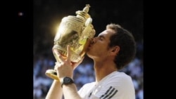 梅利奪溫網錦標破英國77年冠軍荒