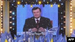 Віктор Янукович у телевізійному зверненні до нації