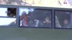 Հայկական զորքերը հեռանում են Քարվաճառի տարածքից՝ համաձայն Հայ-ռուս-ադրբեջանական համաձայնագրի