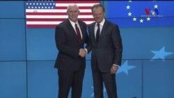 Pence Avrupa'nın Endişelerini Gidermeye Çalışıyor