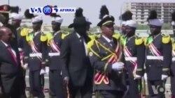 VOA60 AFIRKA: Shugaban Sudan Ta Kudu Salva Kiir Na Ziyarar Kwanaki Biyu A Kasar Sudan