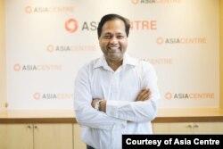 លោកបណ្ឌិត Robin Ramchanran នាយកប្រតិបត្តិនៃអង្គការស្រាវជ្រាវ Asia Centre ដែលមានមូលដ្ឋាននៅទីក្រុងបាងកកប្រទេសថៃ។ (រូបផ្តល់ឱ្យដោយ Asia Centre)