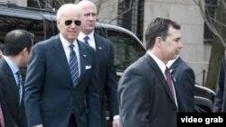 Nënpresidenti amerikan Joe Biden në Kolumbi