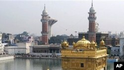 The Golden Temple, Sikhism's holiest shrine, in Amritsar, India (file photo)