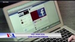Việt Nam doạ cấm cửa Facebook