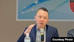 台湾国立中山大学日本研究中心主任郭育仁 (郭育仁提供)