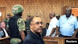 Manuel Chang em tribunal de Joanesburgo, na África do Sul. 9 janeiro, 2019