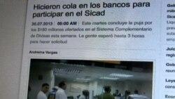 Bajo precio de divisas atrae más personas a subasta del Sicad