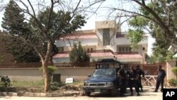 Bin Ladin'in dul eşlerinin gözaltında tutulduğu ev
