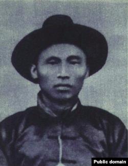 """中国1923年""""二七大罢工""""工人领袖林祥谦(中国老照片,1952年《人民画报》曾使用)"""