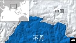 不丹地理位置图