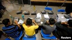 Deca, ilegalni imigranti, u centru u Arizoni