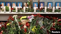 კეივში Ukraine International Airlines-ის დაღუპულ ეკიპაჟს გლოვობენ
