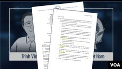 VOA loan tin vụ ông Trịnh Vĩnh Bình thắng kiện chính phủ Việt Nam.