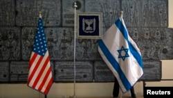 В резиденции президента израиля Шимона переса готовятся к визиту Барака Обамы. Иерусалим, Израиль. 18 марта 2013 года